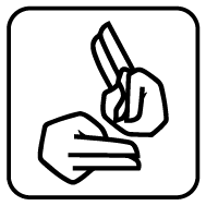 Sign Language Access Guide Symbol