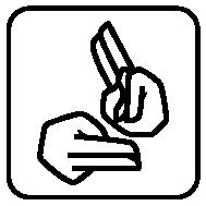 Sign Language Access Guide Symbol