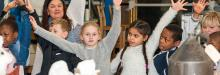 Image of children in NMM workshop