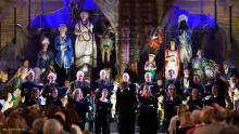 Photo of the BBC Singers at Cutty Sark