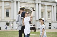 Children at the National Maritime Museum