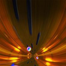 Image of hadron collider