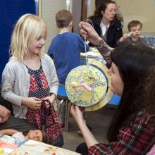 Children's craft workshop at the National Maritime Museum