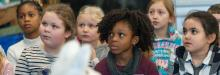 Image of children at NMM event