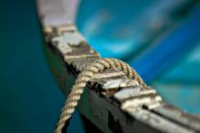 Image of rope on a boat