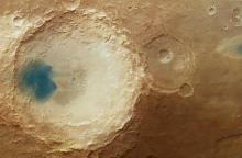 The effect of the winds of Mars