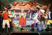 Photo of the Pirates of Penzance performance