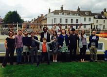(Most of) the team and colleagues at the final project meeting, Ely, July 2015