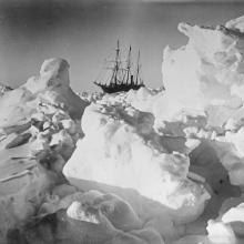 'Endurance' (1912) in the ice