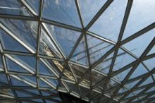 Looking up from underneath the canopy © National Maritime Museum