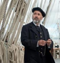 Captain Woodget on board Cutty Sark