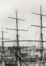 Cutty Sark - discharging cargo in Sidney
