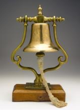 The original ship's bell © Cutty Sark Trust