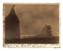 Icebergs photographed by Captain Woodget, 1888 © Cutty Sark Trust