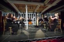 Performance at the Cutty Sark Studio Theatre
