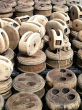 Sanded blocks and deadeyes