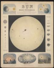 The Sun and Solar Phenomena, by John Emslie, published by James Reynolds, 1846-60, AST0051.4.