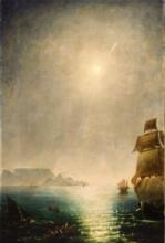 Charles Piazzi Smyth, Daylight View over Table Bay Showing the Great Comet of 1843, 1843, BHC4147.