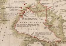 G285:4/18: Sketch of discoveries on the northern coast of America by Captain M