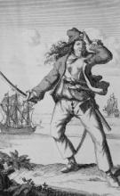 Female pirates Anne Bonny and Mary Read