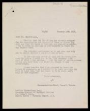 Letter to Chamberlain pt 1