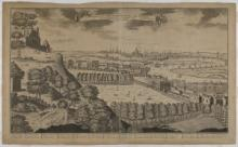 A Prospect of , Greenwich, Deptford and London from Flamstead Hill, Greenwich Park. Recto. ZBA1750