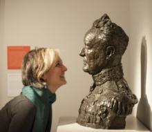 Melanie Vandenbrouck with Frank Dobson