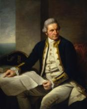 Captain James Cook by Nathaniel Dance, 1775-6, BHC2628.