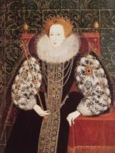 Elizabeth I, British School, about 1590, BHC2680.