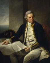 Captain James Cook, 1728-79, by Nathaniel Dance (1775-76)