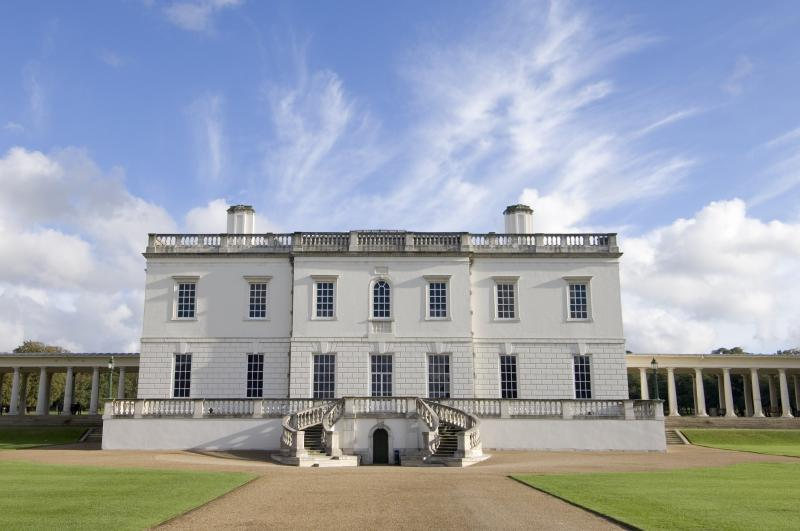 A photograph of the exterior of the Queen's House in Greenwich