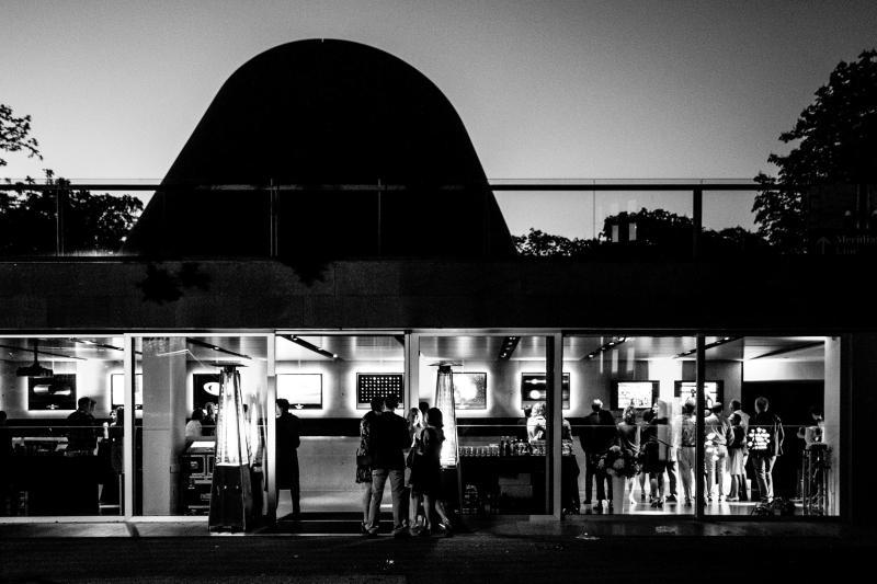 Peter Harrison Planetarium Reception