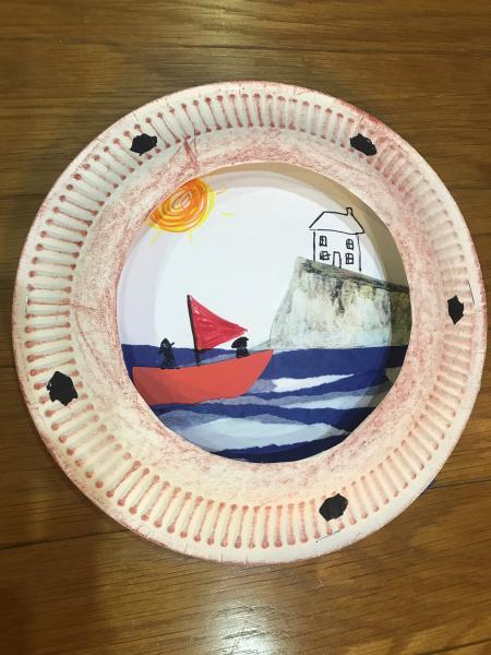 Make a ship's porthole