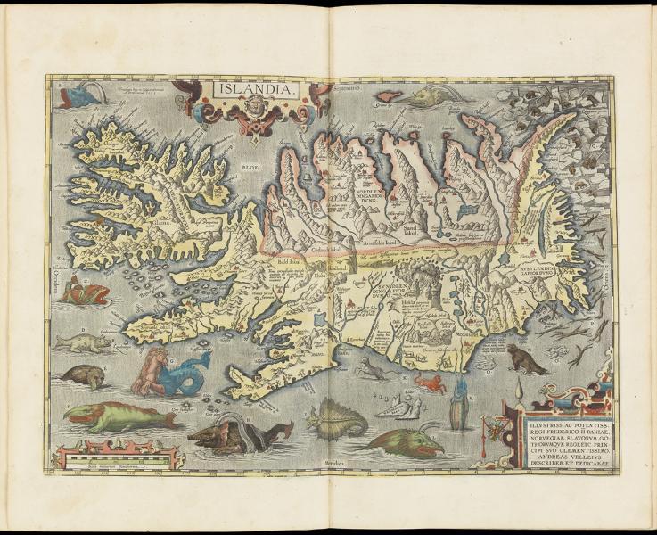 Collection map os Islandia