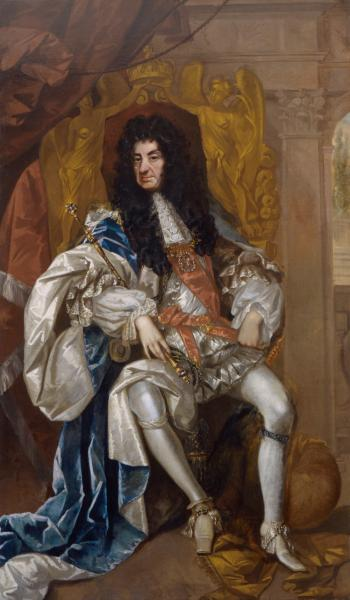 Charles II, attributed to Thomas Hawker