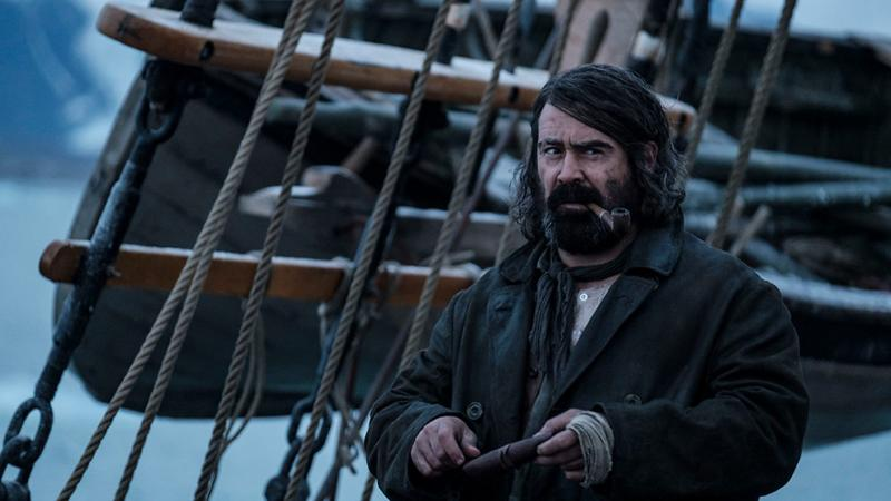 Actor Colin Farrell in historic whaling drama The North Water