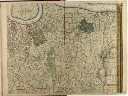 An image for 'The maps of Jean Rocque, a Huguenot refugee'