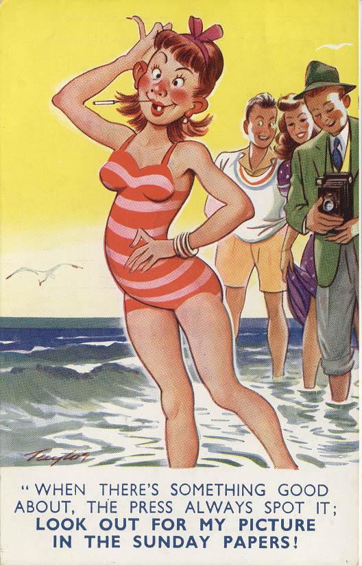 Image of saucy seaside postcard